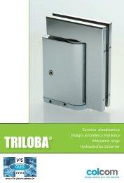 Cerniera oleodinamica Bisagra automática hidráulica Oildynamic ...