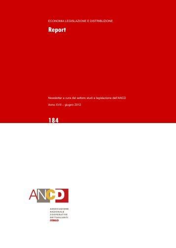 Report 184_Giugno 2012.pdf - ANCD
