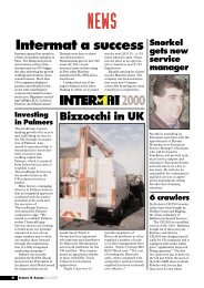 Cranes & Access, June 2000: News - Vertikal.net