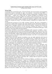 1 Epistemologi contemporanei/Le filosofie della ... - Liceoaselli.it