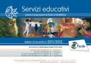 Servizi educativi - Museo degli Usi e Costumi della Gente Trentina