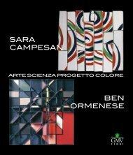 SARA CAMPESAN BEN ORMENESE - Studio d'Arte GR