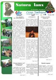Satura lanx numero di dicembre 2008 - Liceo Classico Scientifico ...