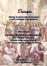 Articolo - Dialoghi new