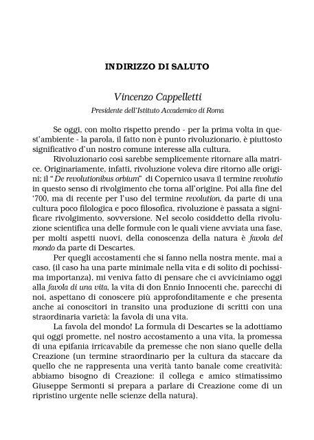 Don Ennio Innocenti - Sindacato Libero Scrittori Italiani
