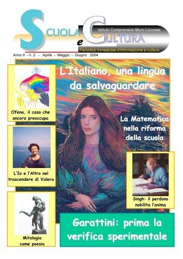 L'Italiano, una lingua da salvaguardare - Tecnologia e Creativita