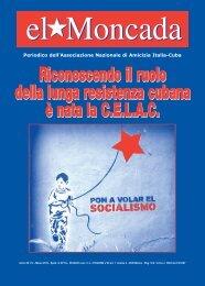ELMONCADA VETRINA 1 - Associazione di amicizia Italia-Cuba