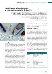 L'assistenza infermieristica ai pazienti con piede diabetico - Ipasvi