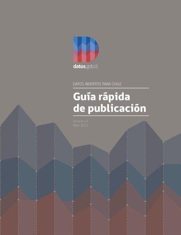 Guía rápida de publicación