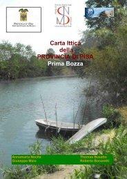 Carta ittica Pisa 2010 - Provincia di Pisa