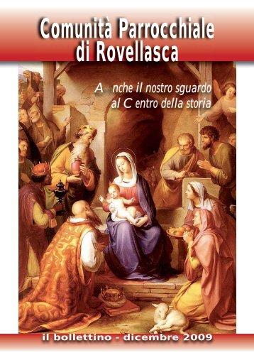 Natale 2009 - Parrocchia dei Santi Pietro e Paolo di Rovellasca