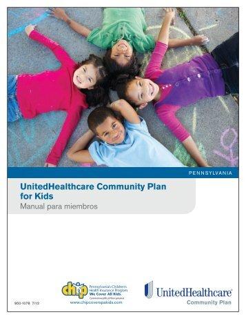 Manual para miembros - UHCCommunityPlan.com