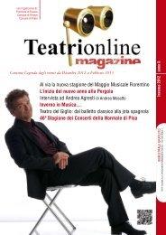 Al via la nuova stagione del Maggio Musicale ... - Teatri Online