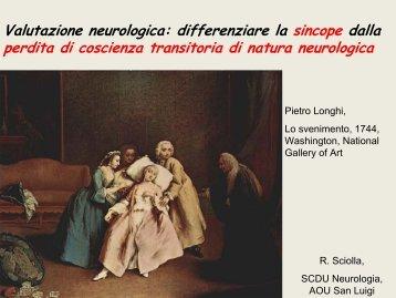 Valutazione neurologica: differenziare la sincope dalla perdita di ...