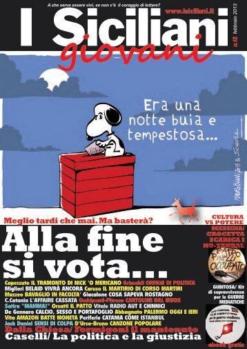 Caselli/ La politica e la giustizia - I Siciliani giovani