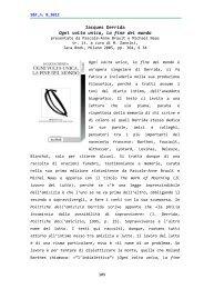 Jacques Derrida Ogni volta unica, la fine del mondo - Scienza e ...