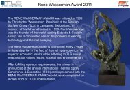Download the 2011 th Winner announcement presentation