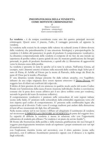 La vendetta - Marco Cannavicci
