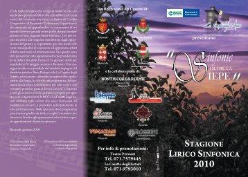 IEPE 2010 - I Piccoli Pomeriggi Musicali