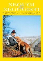 SEGUGI & SEGUGISTI Anno XV Numero 1 - Aprile 2008