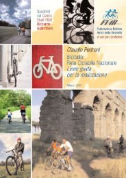 Bicitalia: Rete ciclabile Nazionale - Città di Torino
