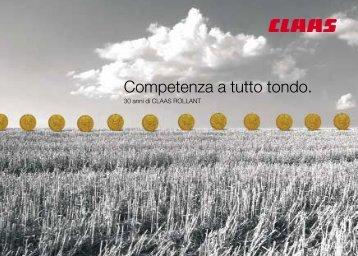 Competenza a tutto tondo. - CLAAS.com
