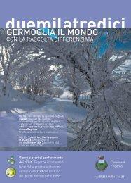 Calendario 2013 - Comune di Frigento