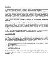 PREMESSA La Regione Marche, con DGR n. 1515 del 07/12/2004 ...