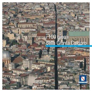 i 100 giorni della Giunta Caldoro - innovazione - Regione Campania