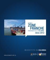 Elenco Zone Franche della Colombia - Unido