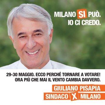 perchè-tornare-a-votare - Giuliano Pisapia