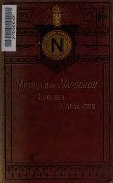 Memoirs of Napoleon, his court and family - Parent Directory