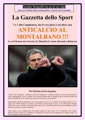 La Gazzetta Dello Sport C97 Seconda di Campionato