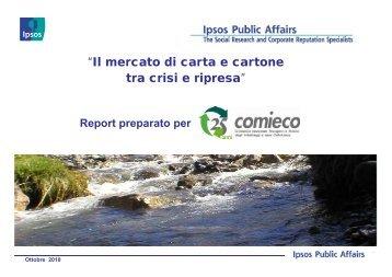Presentazione Nando Pagnoncelli - Comieco
