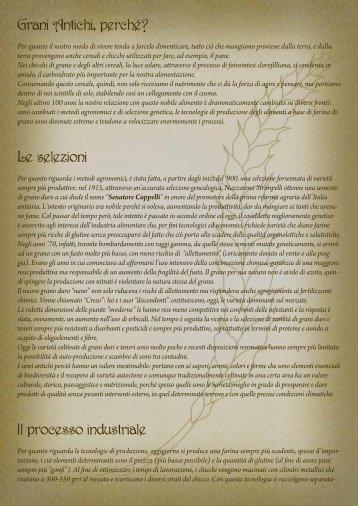 dispensa sui grani antichi - Streccapogn