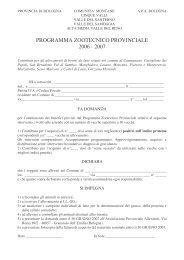 Bovini da latte - APA - Associazione Provinciale Allevatori Bologna