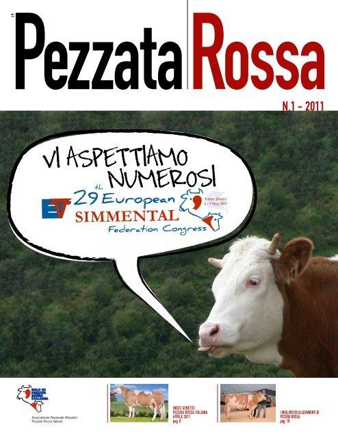 Pezzata Rossa 1 - 2011.pdf - ANAPRI - Associazione Nazionale ...