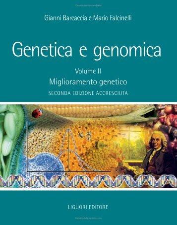 Genetica e Genomica II - Miglioramento genetico