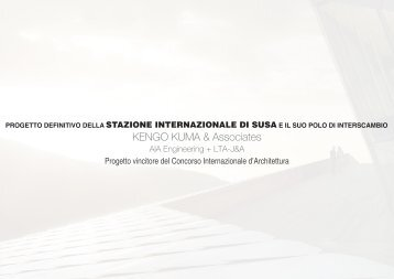 Un progetto migliorativo del territorio - Provincia di Torino