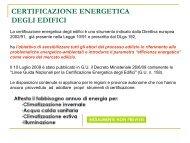 Attestato di certificazione energetica. - Studium