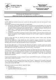 Linee Guida - interventi locali 28-09-09 - Federazione Ingegneri ...