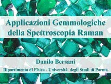 Bersani - Applicazioni gemmologiche