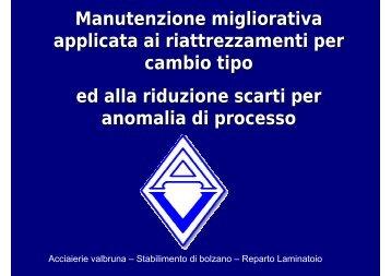 Manutenzione migliorativa applicata ai ... - Festo Didactic