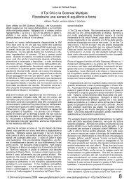 Il Tai Chi e la Sclerosi Multipla - Associazione XIN LI