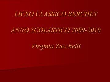 Diapositiva 1 - Liceo classico Giovanni Berchet