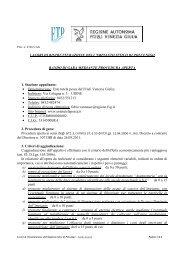 LAVORI DI RISTRUTTURAZIONE DELL'IMPIANTO ITTICO DI ...