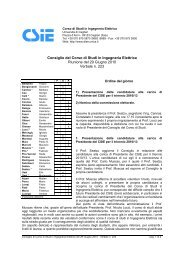 Verbale n. 223 - Dipartimento di Ingegneria Elettrica ed Elettronica