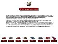 LA MANUTENZIONE PROGRAMMATA LA ... - Alfa Romeo