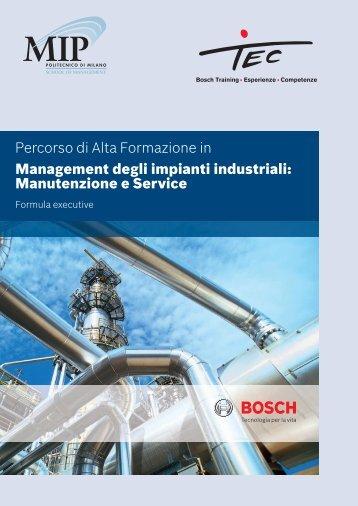 Brochure Management degli Impianti Industriali - Bosch