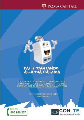 12.02.21 Comune di Roma opuscolo Caldaia - Studio Palmarini